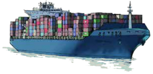 image for container ship