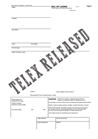 Image for Telex Release