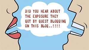image for guest blogging