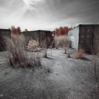 abandoned container