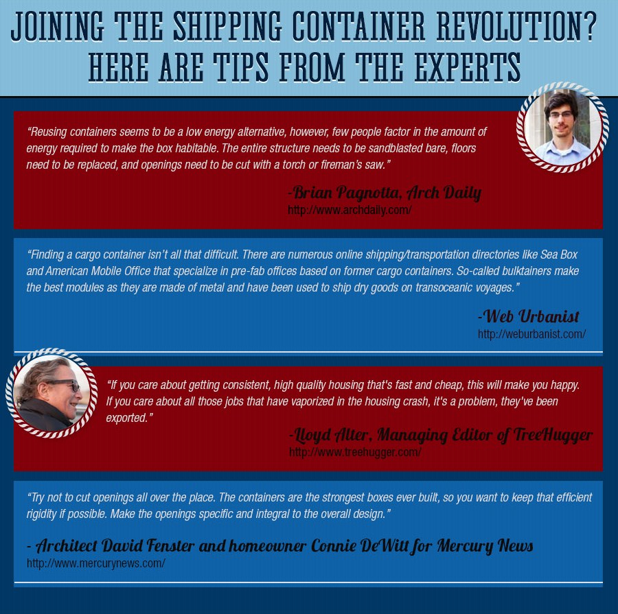 experts - Outside the Box: The Shipping Container Revolution