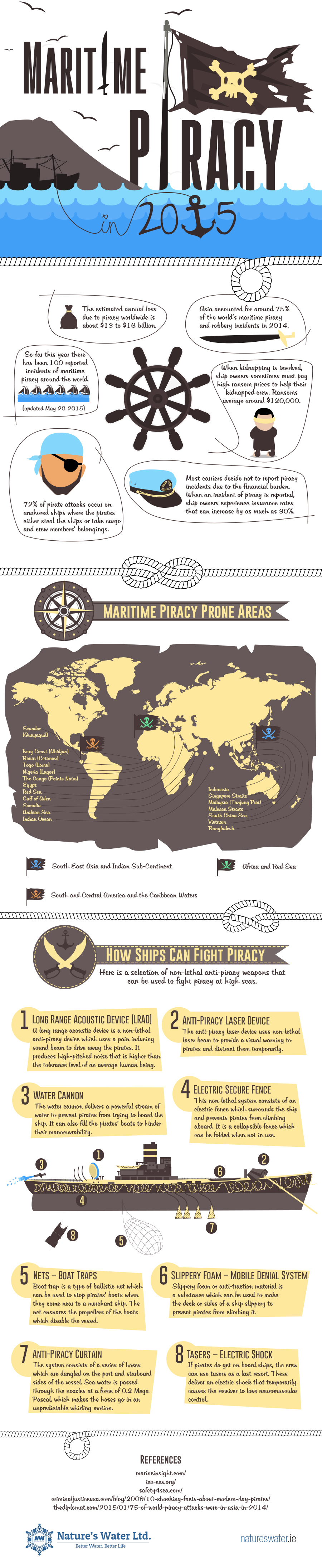 Infographic on Piracy