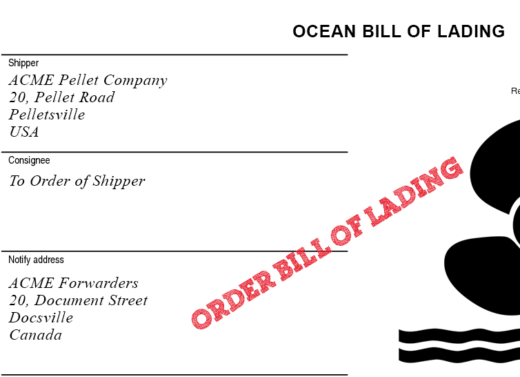 which is the most important function of a bill of lading