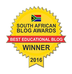 Winner of SA Blog Awards - Best Educational Blog 2016