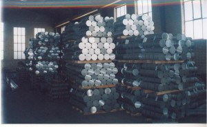 aluminium billets 300x184 - Cargo types and packing method in containers
