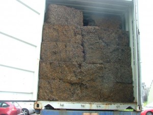 cubed steel wire scrap 300x225 - Cargo types and packing method in containers
