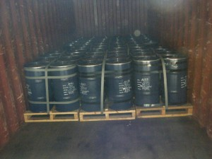drums containing cobalt 300x225 - Cargo types and packing method in containers
