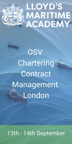 OSV Chartering Contract Management by Lloyd's Maritime Academy