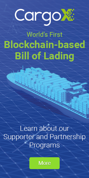 CargoX - Reshaping the Future of Global Trade with the World's First Blockchain Bill of Lading