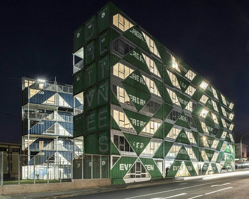 Container Housing - DriveLine Studios - Shipping and Freight Resource