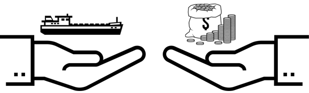 Difference between a shipbroker and ship charterer